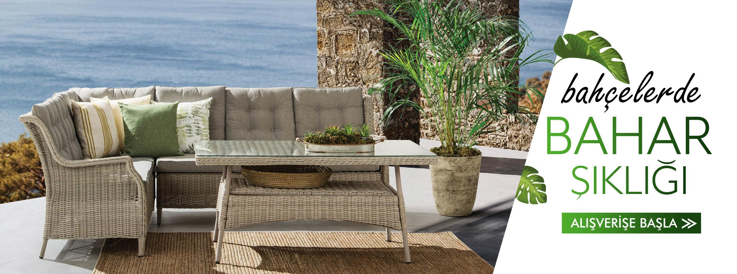 Bahçe mobilyası ve dekorasyonu