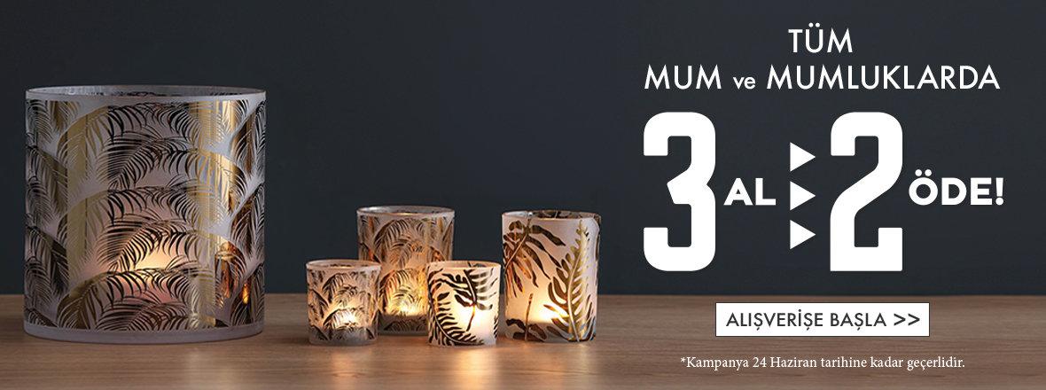 Mum ve Mumluk 3 al 2 Öde