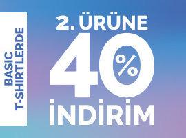 basic t-shirt 2. ye %40 kampanyasi
