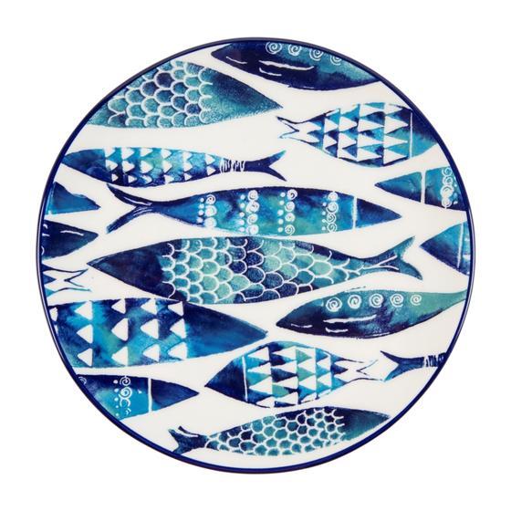 AQUA FISH PASTA TABAĞI - 21 CM