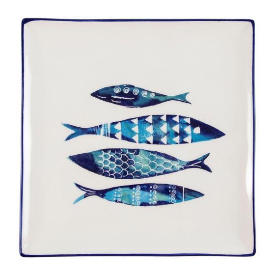 AQUA FISH TABAK 26X26 CM