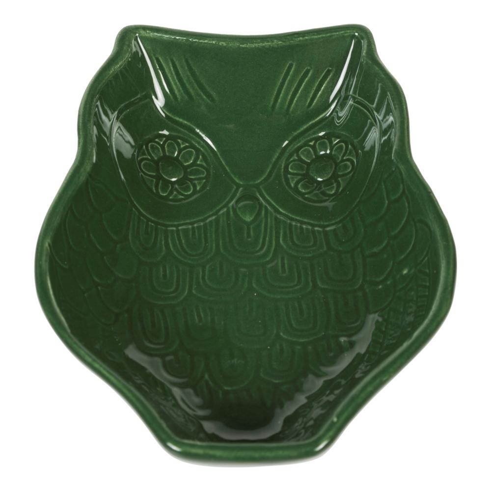 WINTER OWL-ÇEREZLİK-YEŞİL 18 CM