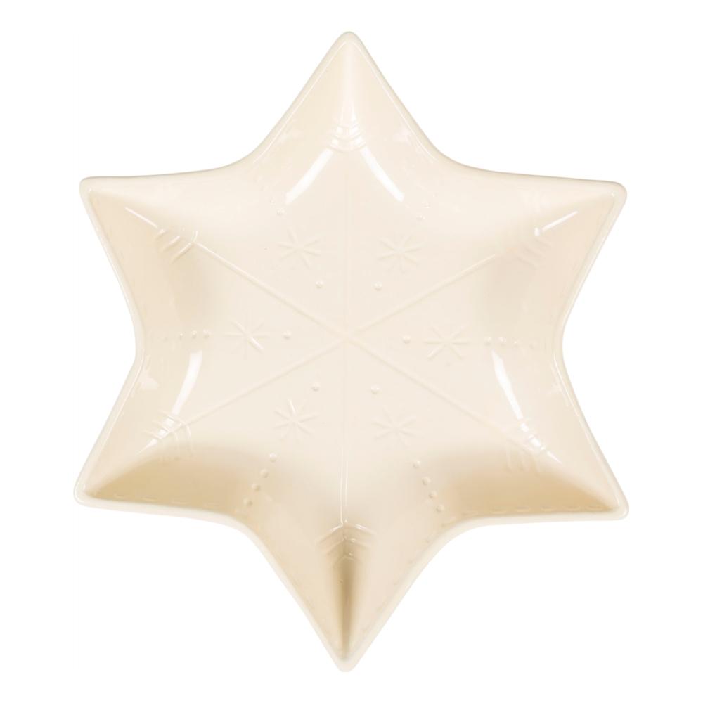 WINTER STAR-SERVİS KASESİ-KREM 30 CM