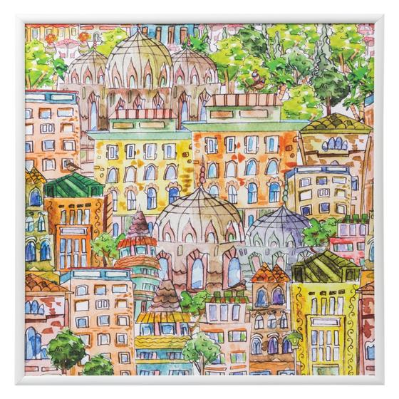 COLOURFUL ISTANBUL PANO 68X68 CM