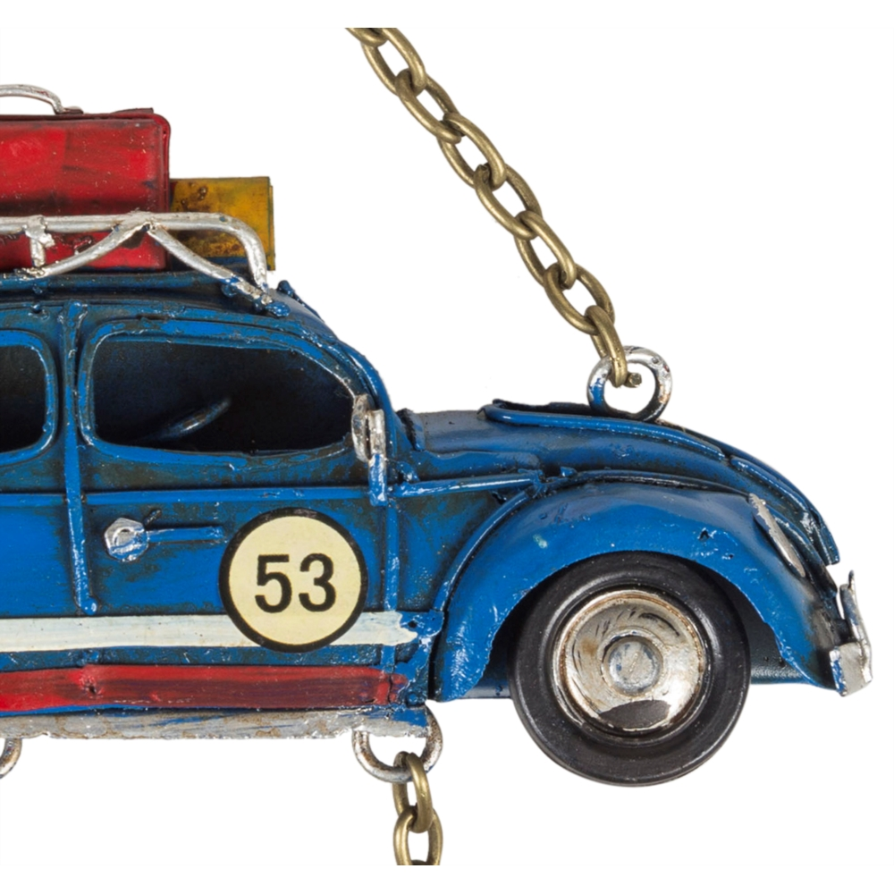CAR WELCOME MAVİ PANO 16X22 CM