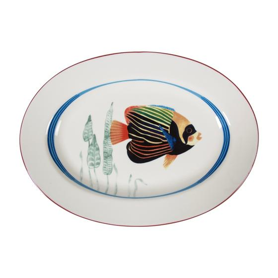 FISH OVAL SERVİS