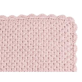 PASPAS KNITTED 60X100 CM PEMBE