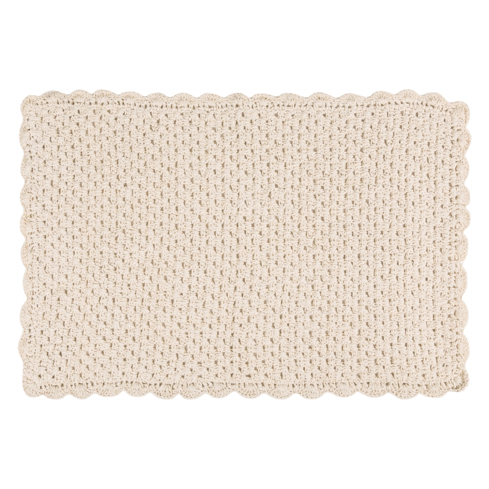 PASPAS KNITTED 60X100 CM STONE