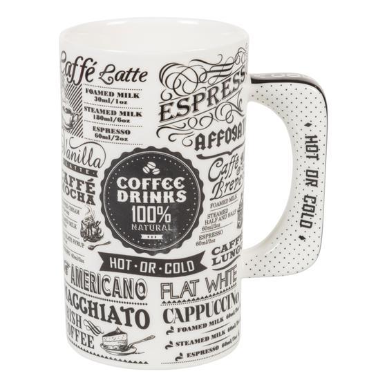 MUG COFFEE GRİ