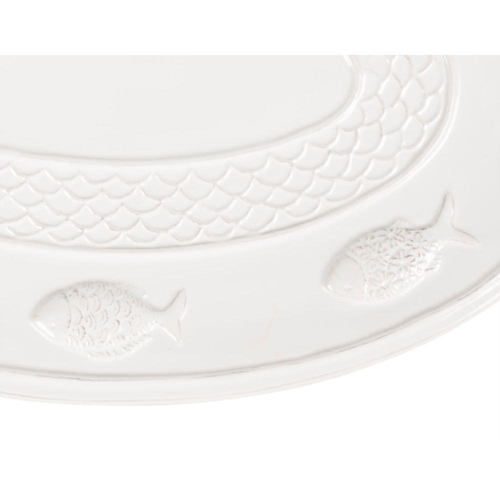 FISH DESIGN OVAL TABAK 31CM