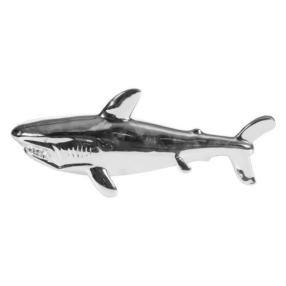 SHINY SHARK BIBLO 35X8X14 CM