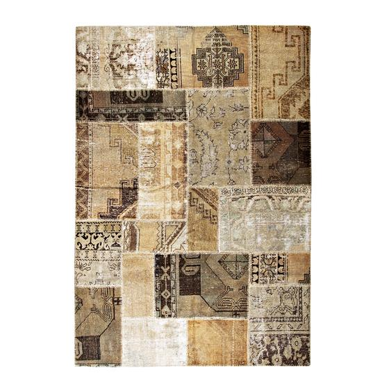NATURAL PATCHWORK HALI
