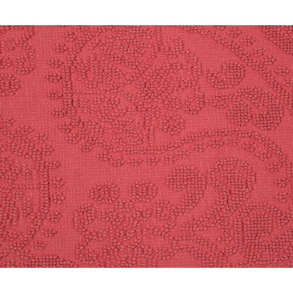 PASPAS JACQUARD ROSE 60X100 CM