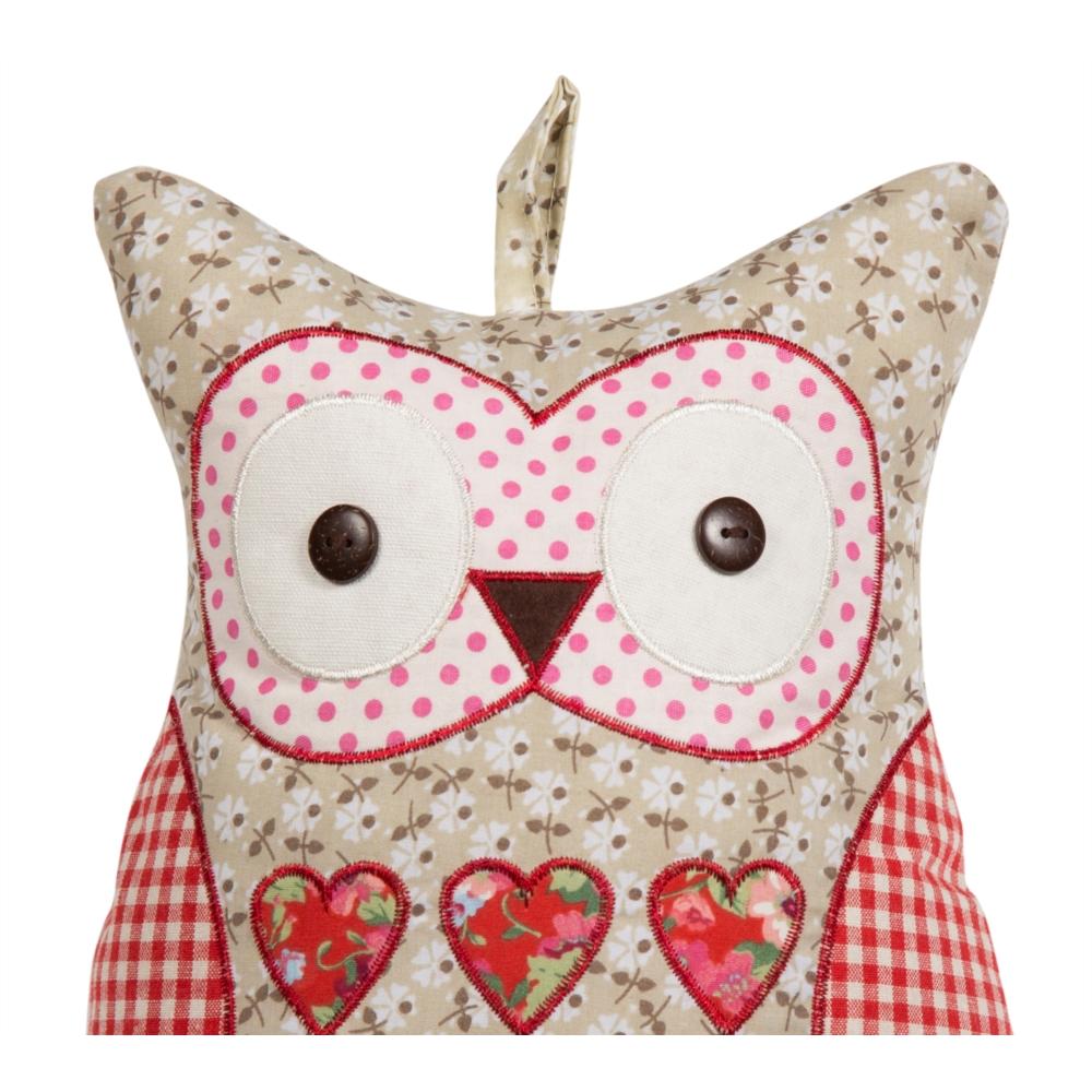 HEARTS OWL KAPI STOPPERI