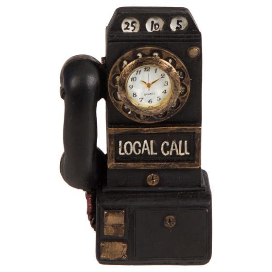 TELEFON FORMLU MASA SAATİ