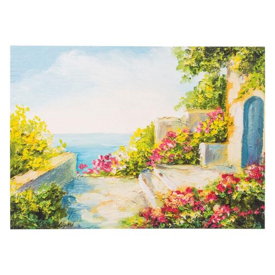 SUMMER IN DOORYARD TABLO 50X70 CM