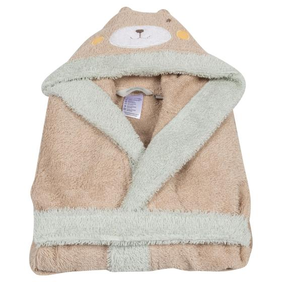 BEAR BATHROBE BEIGE
