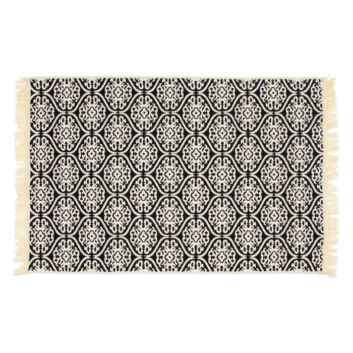 Sisam Kilim Siyah 80x130 cm