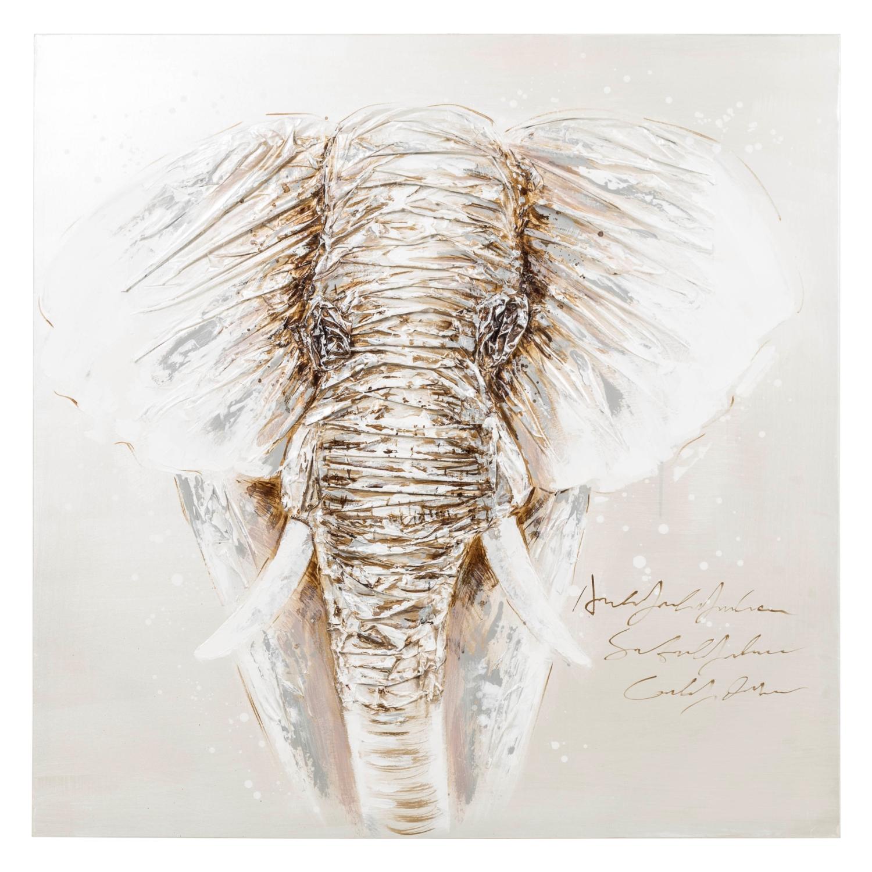 ELEPHANT YAĞLI BOYA TABLO 100X100