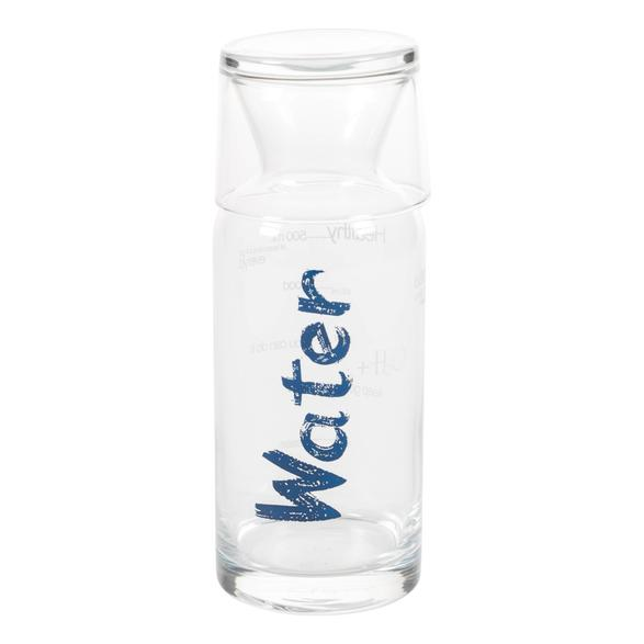 WATER MAVİ KAPAKLI BAŞUCU SÜRAHİSİ - 700 ML