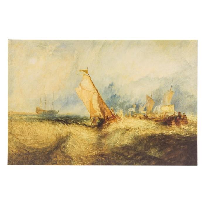 SHIPS' OCEAN YAĞLI BOYA TABLO 80X120 CM
