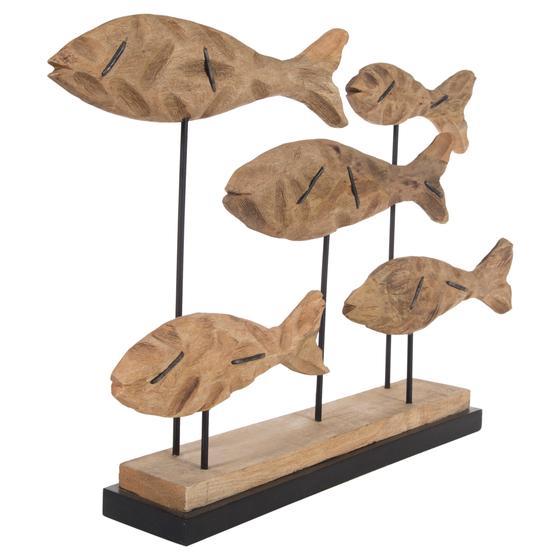 SCHOOL OF FISHS BİBLO 78X54 CM