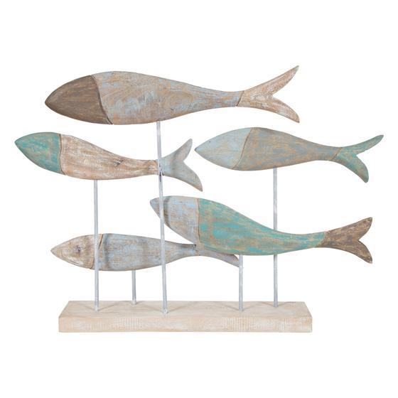 SCHOOL OF FISH MARINE BİBLO 75X52CM