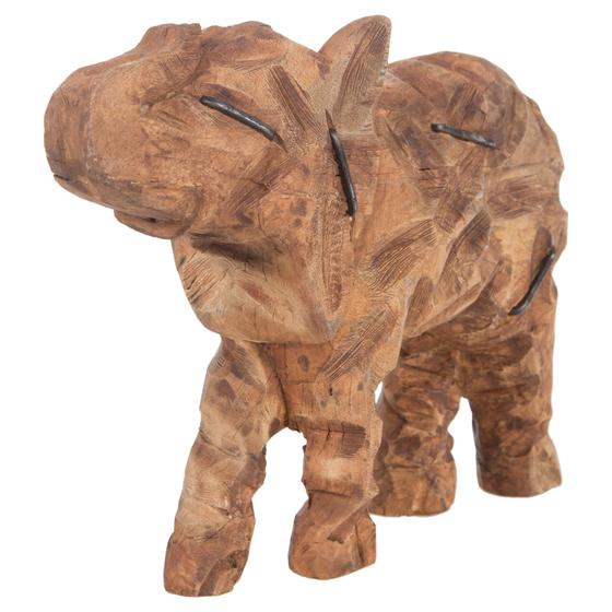 STAPLED ELEPHANT BİBLO 45X30 CM