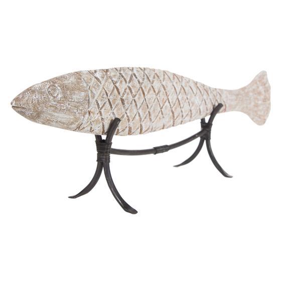 WHITE FISH BİBLO 69X20 CM
