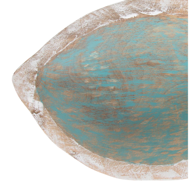 BLUE FISH DEKORATİF KASE 47X22 CM