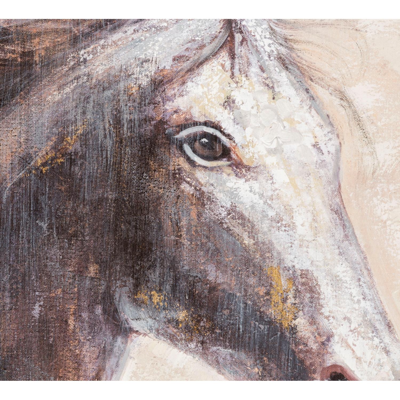 GRACEFUL HORSE YAĞLI BOYA TABLO 90X90 CM