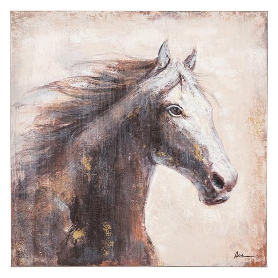 GRACEFUL HORSE YAĞLI BOYA TABLO 90X90 CM