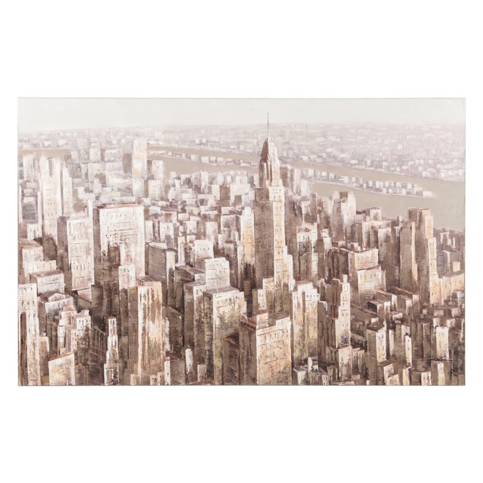 HIGH TOWERS YAĞLI BOYA TABLO 90X140 CM