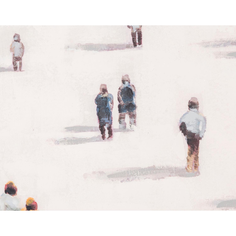 STANDING PEOPLE YAĞLI BOYA TABLO 80X80 CM