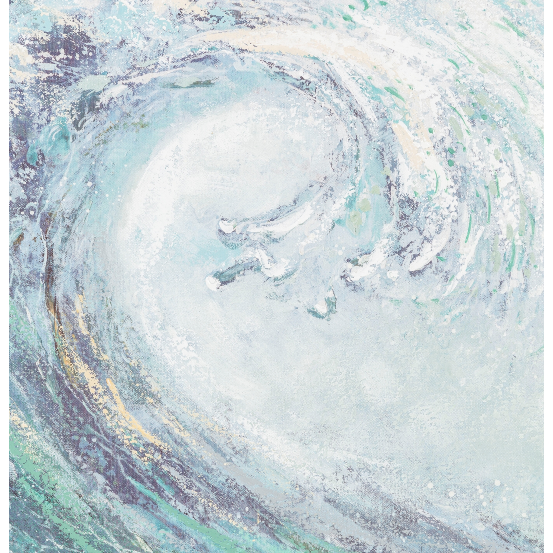 THE WAVE YAĞLI BOYA TABLO 90X160 CM