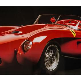 FERRARI 250 GT CALIFORNIA, 1957 PANO 81X61 CM