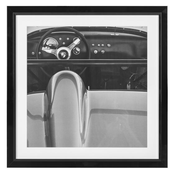 1960 PORSCHE PANO 51X51 CM