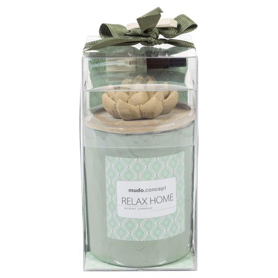 RELAX COLLECTION LOTUS MUM - YEŞİL 7X9 CM