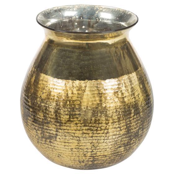 HAMMER GOLD VAZO 31x31x34 CM