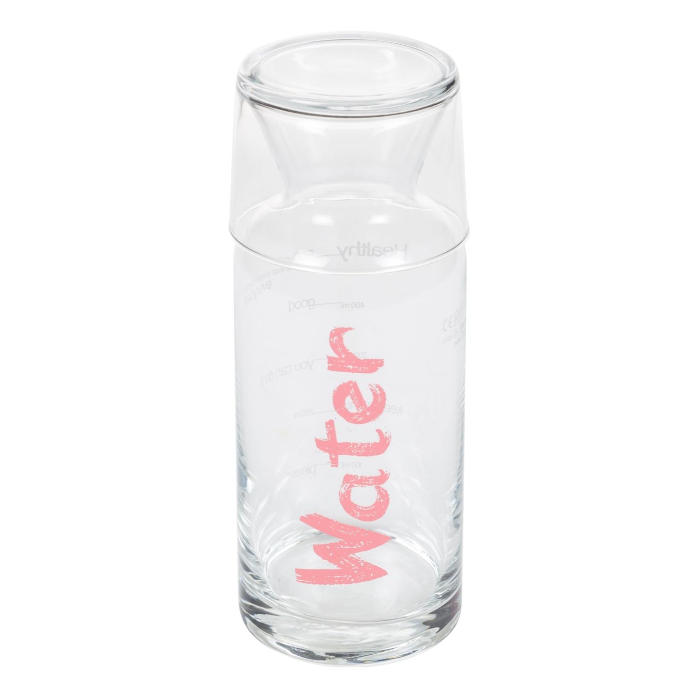 WATER PEMBE KAPAKLI BAŞUCU SÜRAHİSİ - 700 ML