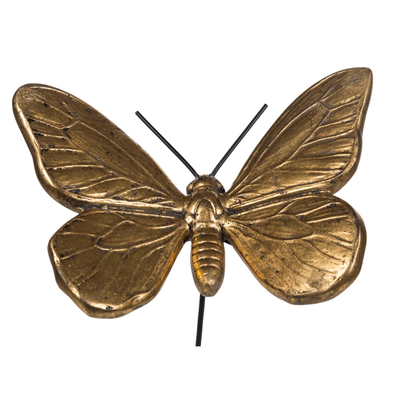 BUTTERFLY BİBLO GOLD 21X36 CM (STANTLI)