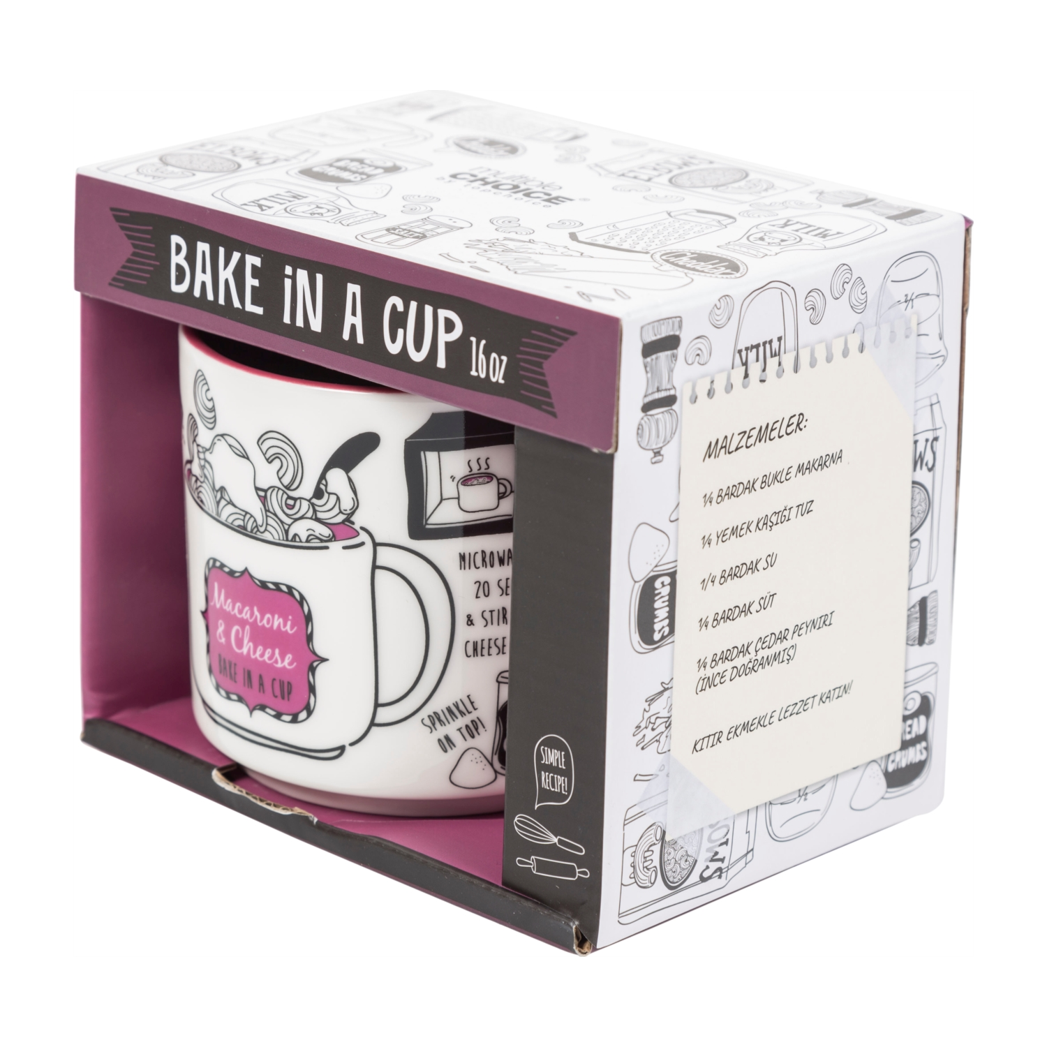 BAKE IN A CUP - 380 ML