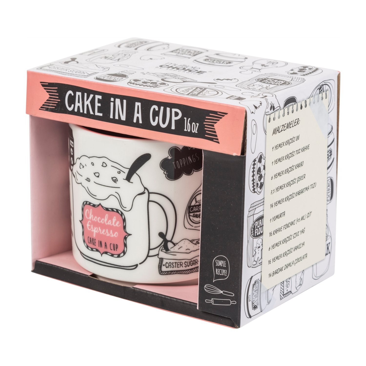 CAKE IN A CUP - 380 ML