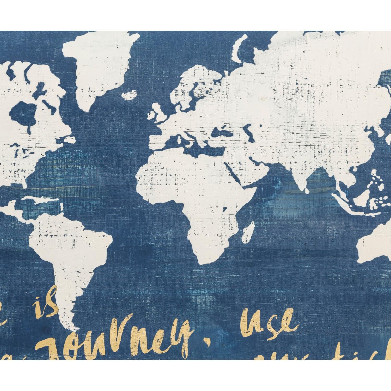 MAP PANO 100x75 CM