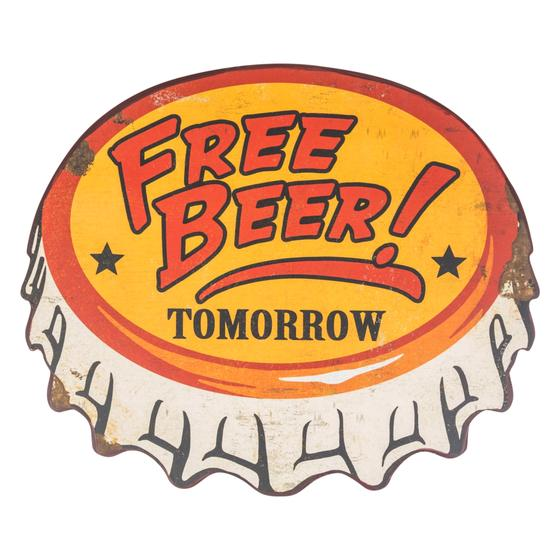 FREE BEER PANO 51X42 CM