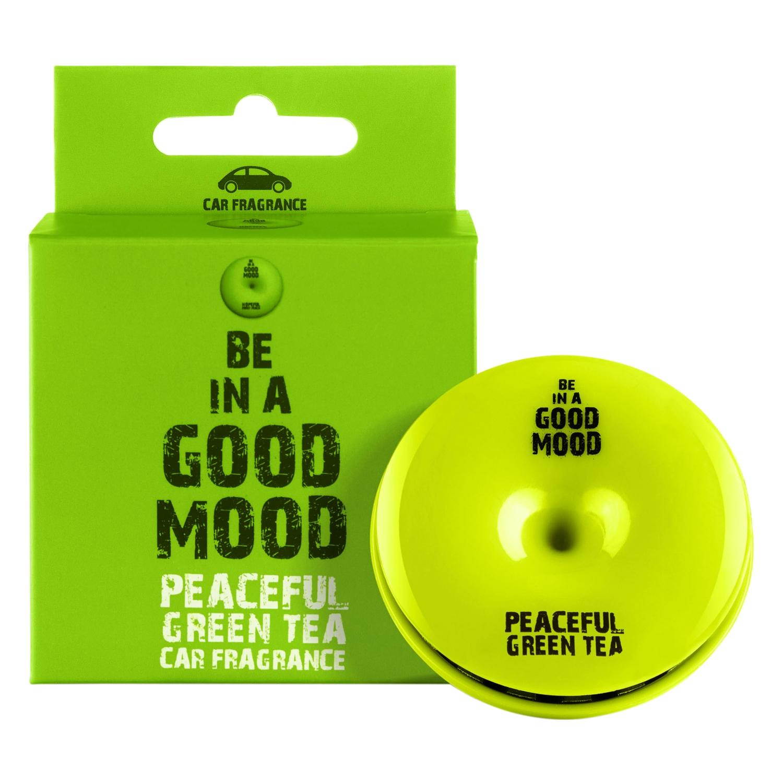 BE IN A GOOD MOOD PEACEFUL GREEN TEA