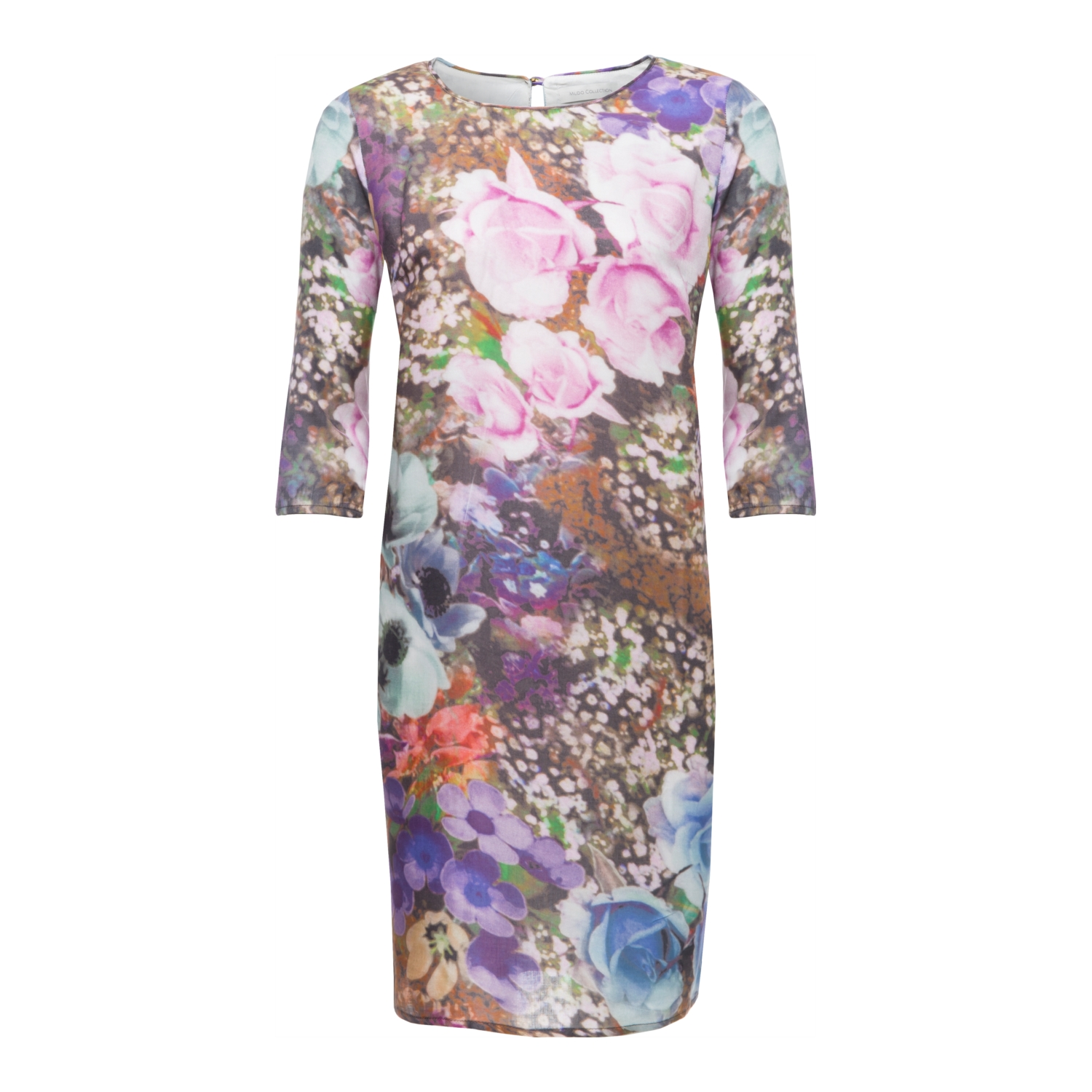FLORAL ELBİSE