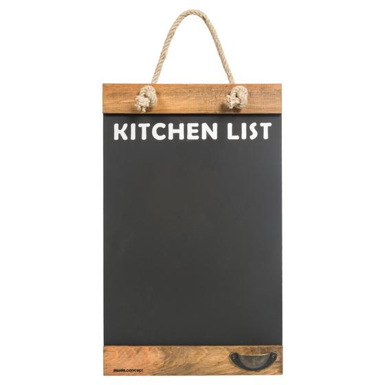 YAZI TAHTASI KITCHEN LIST 40x30 CM