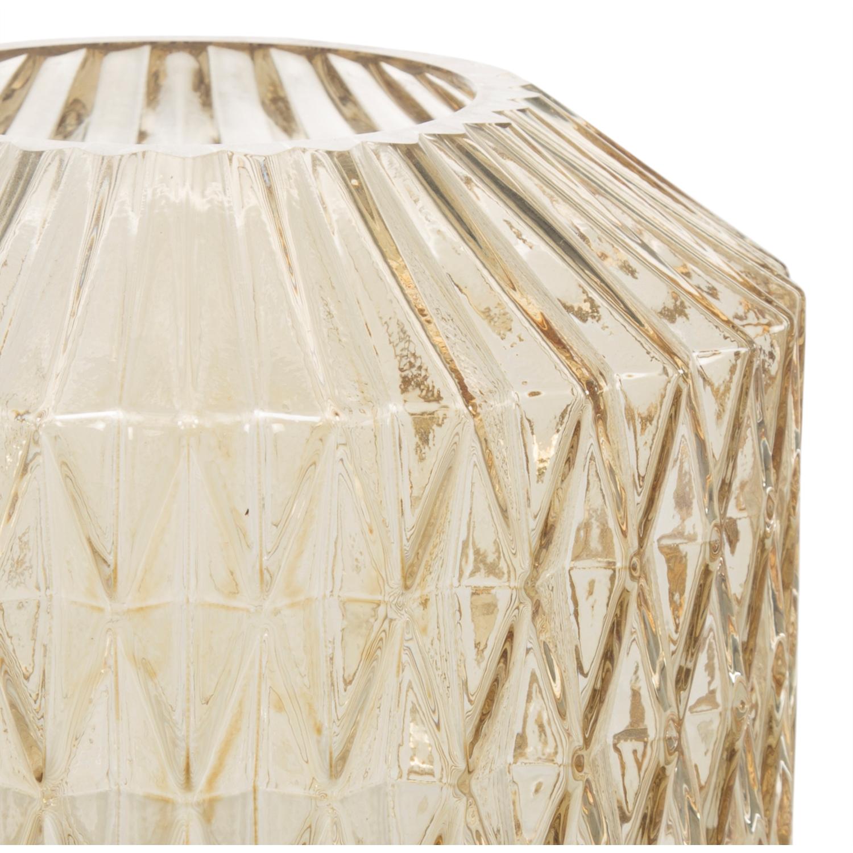 DIAMOND VAZO - AMBER 16x9x18 CM