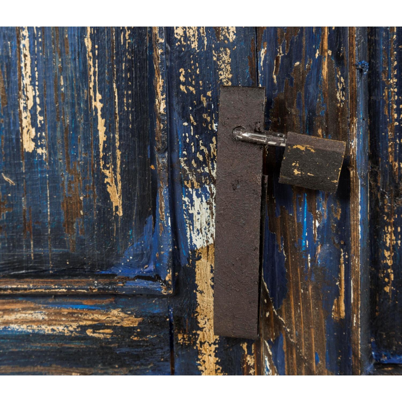 BLUE DOOR PANO 90X125CM